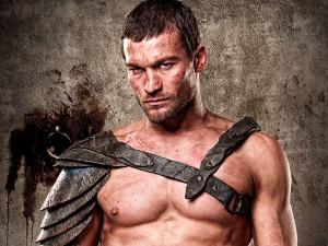 Andy Whitfield, l'inteprête de Spartacus durant la première saison