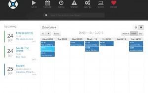 La fonction calendrier de Sonarr